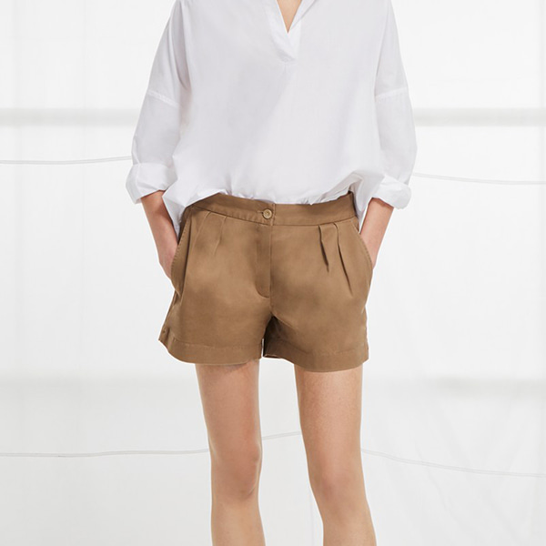 Nigel Pleated Walking Short